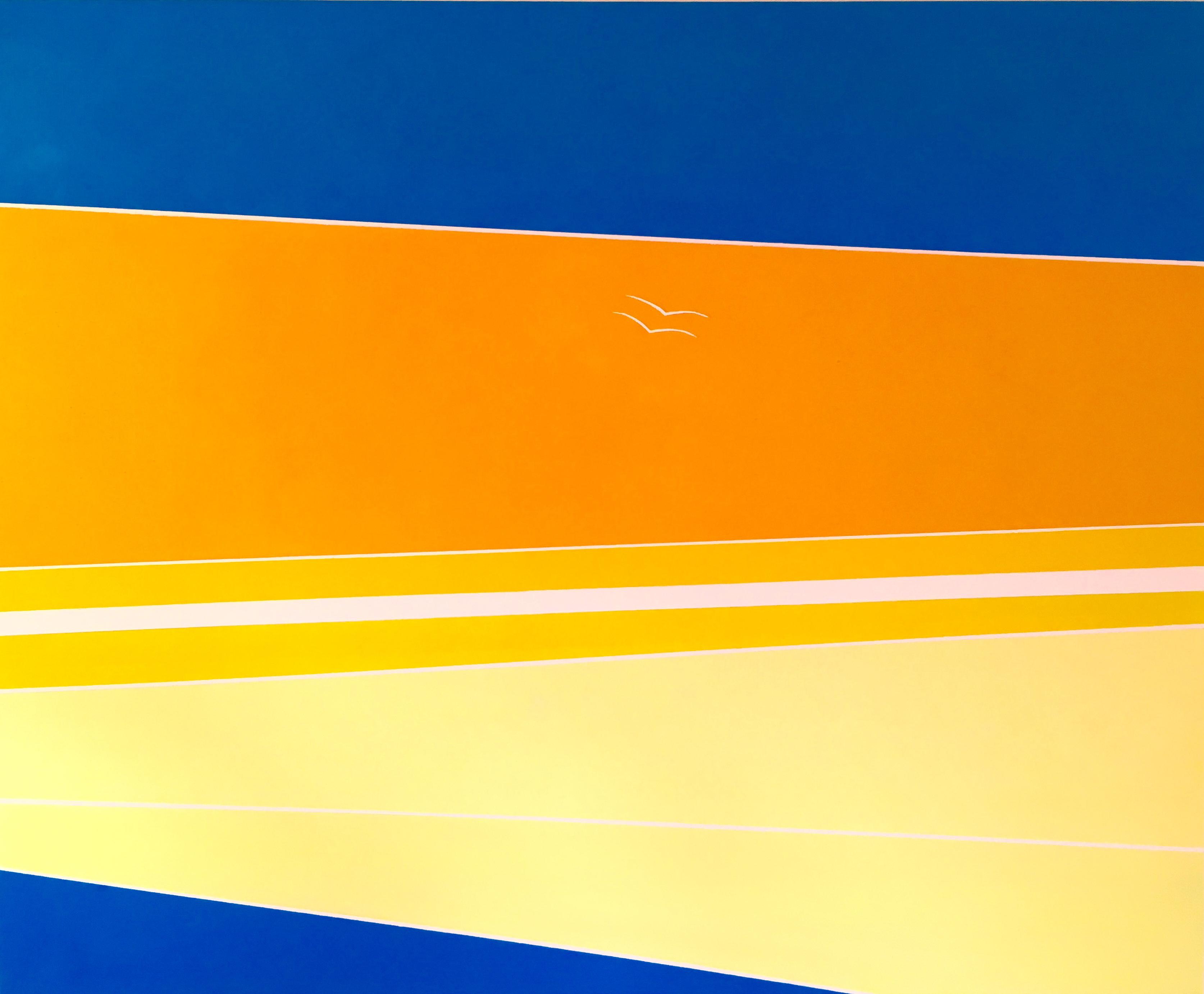 Vogels - 2016 olie op doek 90x110
