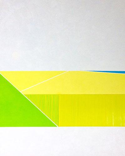Vlas - 2012 olie op doek 90x110